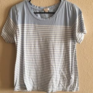 Soft striped tee from J. Crew